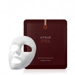 Black Tea True Active Mask A-TrueA-True<br>Возраст: от 25Функции: питание Активные компоненты: черный чай<br>Питательная маска с черным чаем эффективно отшелушивает ороговевшие клетки кожи, очищает поры и сальные пробки. Нежно смягчает уставшую кожу, придает ей здоровый ровный тон.&amp;nbsp;Питает кожу активными природными элементами и дает видимый эффект уже после первого применения, делая кожу здоровой, яркой и отдохнувшей.<br>В основе экстракт премиального черного чая Compagnie Coloniale &amp;ndash; старейший бренд премиального черного чая во Франции. Тщательно отобранные чайные листья дважды ферментируются, что позволяет сохранить их питательные элементы для бережного воздействия на кожу лица.<br>Способ применения:&amp;nbsp;расправьте маску и наложите правильным образом на очищенную кожу лица на 10-15 мин, затем равномерно распределите эссенцию маски по всей поверхности кожи. Оставьте до полного впитывания.<br>?Меры предосторожности:<br><br>При появлении раздражений, покраснений, сыпи и прочих аллергических реакций немедленно прекратите использование продукта. Проконсультируйтесь с врачом при осложнениях.<br>Не применять средство на открытые участки ранений, ссадин и раздражений.<br>При попадании средства на глаза, немедленно промойте теплой водой.<br><br>Способ хранения:<br><br>Хранить средство в закрытом состоянии после открытия упаковки.<br>Хранить в недосягаемости детей.<br>Избегать попадания прямых солнечных лучей.<br><br><br>Линейка: Black Tea True Active Mask A-True<br>Пол: Женский