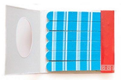 Полоски  Для натуральных ногтей   (размер 6.6*6.0*0.5см) AnnyAnny<br>Производство: Китай Пилки-спички Полоски предназначены для уменьшения длины, придания желаемой формы ногтю и устранения неровностей.<br>        <br>Набор пластиковых пилочек для маникюра Полоски предназначен для обработки натуральных ногтей. В набор входят 18 пилочек мягкой зернистости, оптимальной для обработки натуральных ногтей. Пилочки для маникюра изготовлены из биоразлагаемого пластика. Размер: 6.6*6.0*0.5см.<br><br>Линейка: Полоски  Для натуральных ногтей   (размер 6.6*6.0*0.5см) Anny<br>Пол: Женский