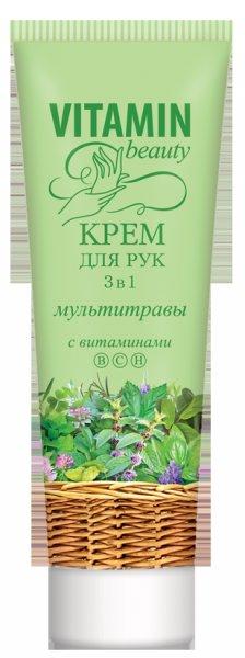 Мультитравы, увлажнение, питание, смягчение EFTI CosmeticsEFTI Cosmetics<br>Крем для рук обеспечивает полноценный тройной эффективный уход за кожей: увлажнение, питание и смягчение. Как результат: глад&amp;shy;кая, элас&amp;shy;тич&amp;shy;ная, мягкая и нежная кожа.<br>        <br>Прекрасный крем 3 в 1 поможет вашим рукам восстановить природную красоту и мягкость. Натуральные экстракты хмеля клевера, аира, шалфея питают, великолепно увлажняют, обладают регенерирующим действием, эффективно омолаживают кожу.<br><br>Линейка: Мультитравы, увлажнение, питание, смягчение EFTI Cosmetics<br>Объем мл: 60<br>Пол: Женский
