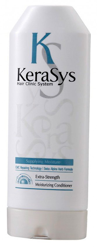 Увлажняющий Hair clinic system Kerasys KerasysKERASYS<br>Специально разработанная формула для сухих и ломких волос, мгновенно увлажняет и восстанавливает структуру волос по всей длине. Волосы обретают жизненную силу, блеск и шелковистость. Обогащен лечебными веществами в составе липосом, которые проникают в клеточные структуры волоса и оказывают восстанавливающее и лечебное действие. &amp;lt;p&amp;gt;&amp;lt;strong&amp;gt;500 мл. идет в мягкой упаковке&amp;lt;/strong&amp;gt;&amp;lt;/p&amp;gt;.<br>        <br>Тип волос:&amp;nbsp;сухие, ломкие, вьющиеся, волосы склонные к накоплению статического электричества, ломкости и сечению.<br>Hair clinic system Kerasys Специально разработанная формула&amp;nbsp;для сухих и ломких волос, мгновенно увлажняет и восстанавливает структуру волос по всей длине. Волосы обретают жизненную силу, блеск и шелковистость. Обогащен лечебными веществами в составе липосом, которые проникают в клеточные структуры волоса и оказывают восстанавливающее и лечебное действие.<br>Содержит кератиновый комплекс и пантенол (провитамин В5). Эффективность применения доказана клинически институтами дерматологии Германии и США.<br>Результат применения:&amp;nbsp;<br><br>на 36% больше увлажнения;&amp;nbsp;<br>в 3.4 раза более гладкая текстура волос;&amp;nbsp;<br>восполняет недостаток собственного белка в структуре волос.&amp;nbsp;<br><br>Kerasys &amp;ndash; профессиональный уход за волосами в домашних условиях.<br>Состав:&amp;nbsp;вода, экстракт эдельвейса альпийского, экстракт цветка горной арники, экстракт корня горечавки желтой, экстракт тысячелистника обыкновенного , экстракт полыни горькой, гидроксипропил триметил аммоний меда, катоиный гидролизат протеина, лаурет сульфат натрия, кокамидопропил бетаин, гликольдистеарат, хлорид натрия, отдушка, лаурилсаркозинат натрия, кокамид ДЕА, лаурет 9, кокамид МЭА, карбомер, гидроксид натрия, лимонная кислота, метилпарабен, метилхлороизотиазолин, метилизотиазолин, диметикон, пантенил этил этер, поликватерниум-10, гуар 