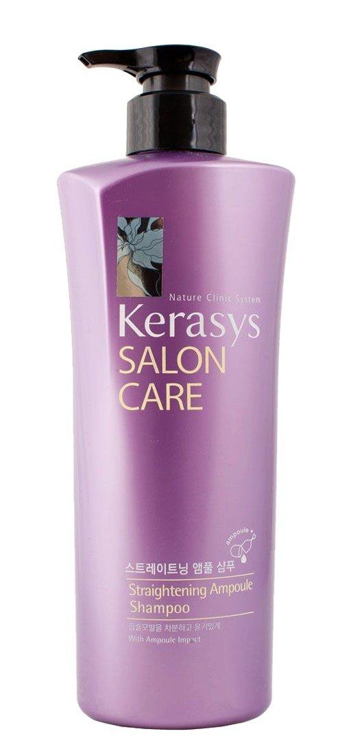 KerasysKERASYS<br>Шампунь Выпрямление KeraSys Salon Care был разработан специально для обладательниц вьющихся и непослушных волос. Благодаря своей эффективной формуле он легко и надолго распрямляет непослушные кудряшки, облегчая при этом уход за волосами и их укладку.<br>В состав шампуня входит природный протеин, который оздоравливает волосы и восстанавливает их структуру, а также экстракты натуральных трав, которые питают ваши волосы изнутри, делая их шелковистыми и сияющими.&amp;nbsp;Компонент природного протеина, содержащегося в экстракте моринги, аминокислоты экстракта фиалки и технология ампульной терапии успокаивает и выпрямляет вьющиеся волосы.&amp;nbsp;<br>Эффект от использования: разглаживание, выпрямление волос.<br>Тип волос: для всех типов волос.<br>Активные компоненты: экстракт семян моринги масличной, экстракт семян амаранта, экстракт виноградного вина, кварц, кератин, экстракт луковицы белой лилии, экстракт кукурузы, пантенол, гидролизат пшеничных белков и др.<br>Способ применения: шампунь подходит для ежедневного применения. При этом использовать его могут не только женщины, но и мужчины. Все, что вам нужно, - это лишь нанести его на влажные волосы, аккуратно стереть в них и оставить на пару минут, после чего хорошенько промыть водой. Эффект от использования шампуня станет заметен уже через десять дней с начала его использования.<br><br>Линейка: Kerasys<br>Объем мл: 470<br>Пол: Мужской