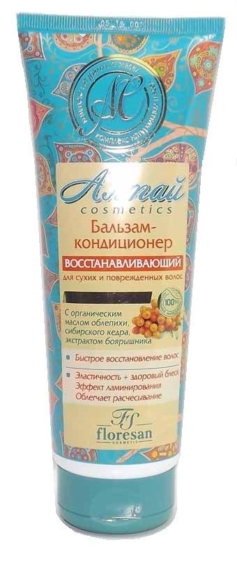 Бальзам восстанавливающий Алтай для сухих и поврежденных волос Флоресан 250 мл (жен)