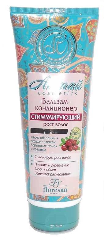 Бальзам-кондиционер Алтай стимулирующий рост волос Флоресан 250 мл (жен)
