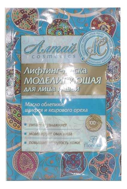 Лифтинг-маска Алтай для лица и шеи Флоресан 150 мл (жен)