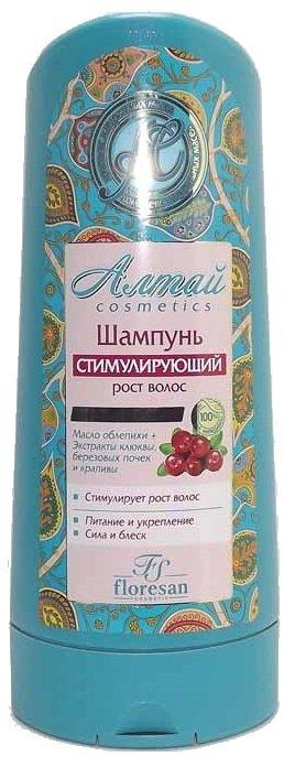Шампунь стимулирующий рост волос Алтай Флоресан 400 мл (жен)