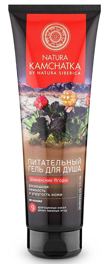 Шаманские ягоды роскошный Natura SibericaNatura Siberica<br>Производство: Германия Natura Kamchatka Гель для душа Шаманские ягоды, 250мл.Роскошный питательный гель для душа несет в себе мощный заряд витаминов и энергии диких таежных ягод.Масла семян арктической клюквы, княженики, черники и брусники насыщают кожу витаминами и превосходно улучшают ее тонус и упругость.<br>        <br>Масла золотой облепихи и таежной морошки обогащают кожу питательными веществами, придавая ей роскошную нежность и бархатистость. Можжевельник и дальневосточный лимонник улучшают кровообращение, способствуя питанию клеток и выведению лишней жидкости. Дикая медвежья ягода активизирует обновление кожи, придавая ей яркость и сияние, выравнивает цвет кожи. Особенности состава: На основе 9 драгоценных масел диких таежных ягод :(*) - органические ингредиенты (WH) - органические экстракты дикорастущих растений Сибири (PS) - производное масла сибирского кедра (HR) &amp;ndash; производное масла алтайской облепихи Эффект от использования: роскошная нежность и упругость кожи.<br>Способ применения: нанести на влажное тело небольшое количество геля, равномерно распределить легкими движениями до образования пены.Смыть теплой водой.<br>Состав: Aqua, Sodium Coco-Sulfate, Glycerin, Coco-Glucoside, Cocamidopropyl Betaine, Sodium Chloride, Vaccinium Macrocarpon Seed Oil (масло клюквы), Vaccinium Vitis-Idaea Seed Oil (масло брусники), Hippophae Rhamnoides Fruit Oil (масло облепихи), Rubus Chamaemorus Seed Oil (масло морошки), Vaccinium Myrtillus Seed Oil (масло черники), Schizandra Chinensis Fruit Oil (масло лимонника), Juniperus Communis Wood Oil (масло можжевельника), Arctostaphylos Uva Ursi Leaf Extract (масло медвежьей ягоды), Helianthus Annuus Seed Oil, Sorbus Sibirica ExtractWH (экстракт рябины сибирской), Agrostis Sibirica ExtractWH (экстракт полевицы сибирской), Anemonoides Altaica ExtractWH (экстракт ветреницы алтайской), Ribes Nigrum Leaf Water* (экстракт черной смороды), Rubus Articus Fruit Extract