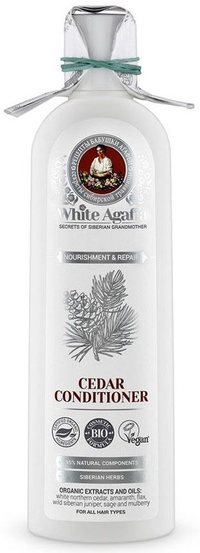 бальзам для волос органический кедровый, питание и восстановление Бабушка Агафья 280 мл (жен)