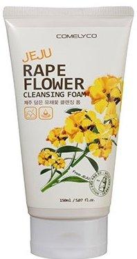 Rape Flower In Jeju Cleansing Foam ComelycoComelyco<br>Кремообразная пенка очищает закупоренные поры, снимает макияж и удаляет загрязнения, не подсушивая кожу и не нарушая естественную гидролипидную мантию.<br>Пена, содержащие вещества, извлеченные из красных цветов Чеджу.<br><br>Линейка: Rape Flower In Jeju Cleansing Foam Comelyco<br>Объем мл: 150<br>Пол: Женский