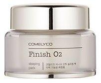 Finish O2 Sleepingpack ComelycoComelyco<br>Кислородная ночная маска с осветляющим действием. Придает прозрачность коже, убирает тусклый, серый тон кожи. Поддерживает жизнеспособность кожи, благодаря активному комплексу витаминов, обладает антиоксидантным действием.<br>Маска хорошо подходит для ухода за тусклой, усталой кожей с признаками старения.<br>Питательные вещества и витамина С, содержащиеся в лимоне, проникают в кожу и чтобы обеспечивают питание изнутри.&amp;nbsp;<br><br>Линейка: Finish O2 Sleepingpack Comelyco<br>Объем мл: 45<br>Пол: Женский