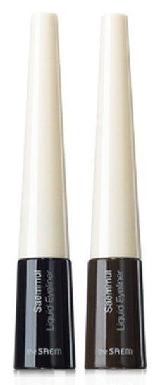 Saemmul Liquid Eyeliner SaemSaem<br>Жидкая подводка выполненая в виде флокончика с тонкой кисточкой, которая поможет Вам нарисовать обворожительные стрелки нужной толщины и формы.<br>Стойкая формула обеспечивает длительный эффект, благодаря содержанию устойчивого пигмента и прочного полимера способна выдержать любые негативные воздействия окружающей среды (зной, солнечные лучи, снег, дождь) без растекания.<br>Существует 2 оттенка подводки:<br><br>Deep Black<br>Deep Brown<br><br>Способ применения: нанесите подводку на кожу век при помощи кисточки,&amp;nbsp;как можно ближе к линии роста ресниц.<br><br>Линейка: Saemmul Liquid Eyeliner Saem<br>Пол: Женский