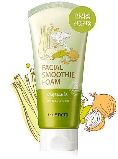 Vegetable Facial Smoothie Foam(W) Saem 150 мл (жен)
