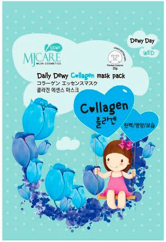 Mj Care Daily Dewy Сollagen Mask Pack Mijin 25 мл (жен)