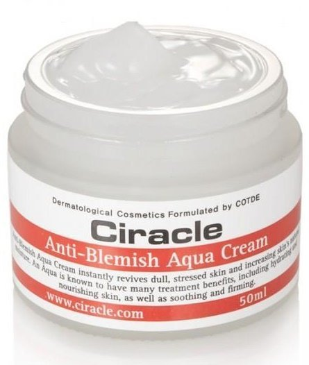 Anti Blemish Aqua Cream Ciracle 50 мл (жен)