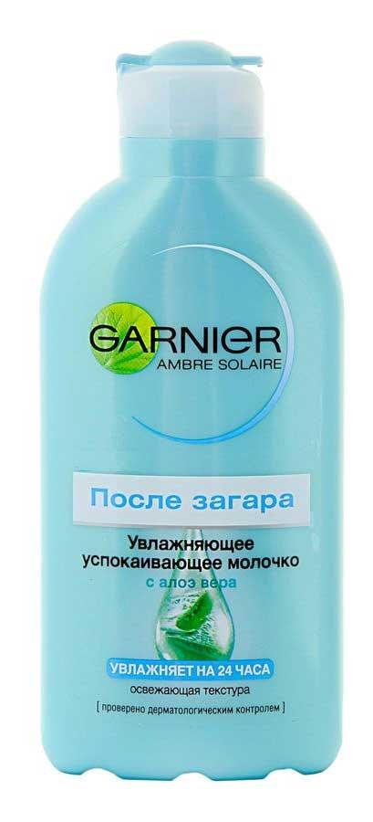 Solaire Молочко после загара увлажняющее Garnier 200 мл (унисекс)