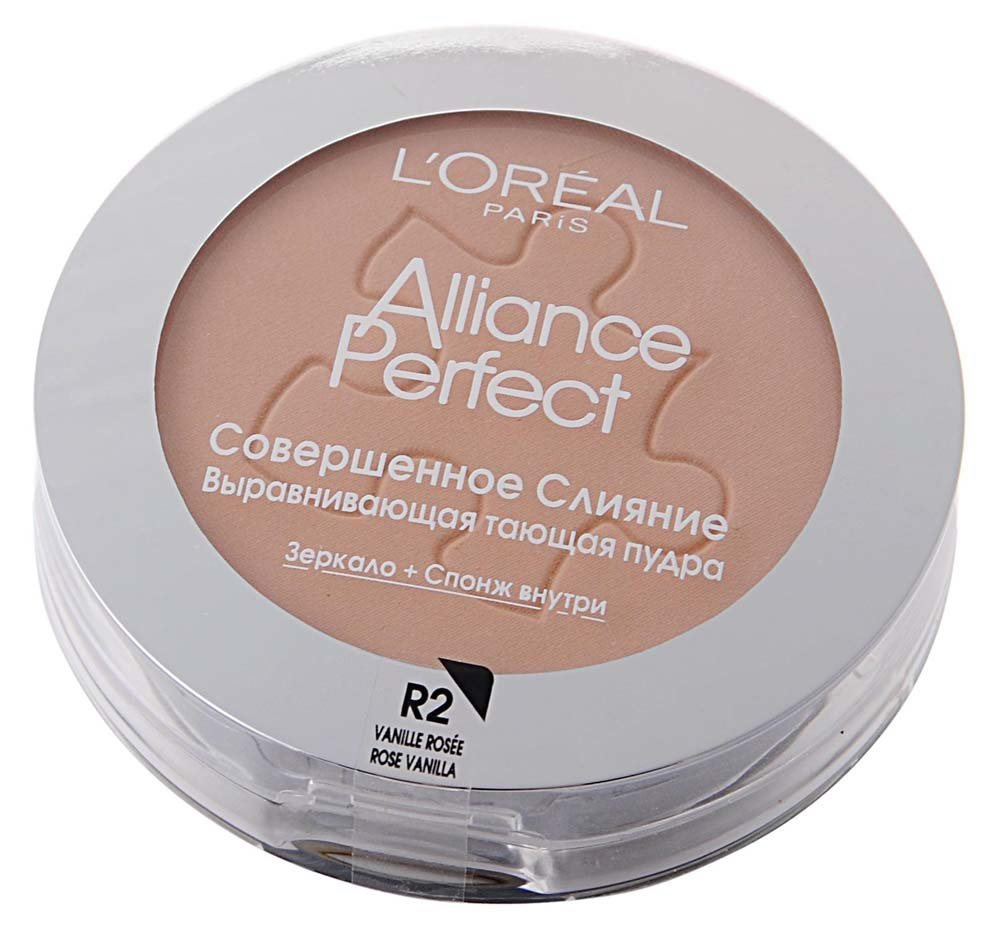 Alliance Perfect  L`orealLOreal<br>Производство: Великобритания Пудра Alliance Perfect Совершенное Слияние - это компактная пудра с моделирующим покрытием, которая идеально сливается с цветом и текстурой Вашей кожи, позволяет скрыть несовершенства. Без эффекта маски и без излишеств.<br>        <br>Пудра Alliance Perfect от LOreal придает коже лица естественный, свежий оттенок, обеспечивает тончайшие тающие покрытие, обладает моделирующим эффектом и идеально подстраивается к Вашей коже. Пудра улучшает внешний вид кожи лица, уменьшает видимые морщинки, пигментные пятна и визуально выравнивает кожу.<br><br>Линейка: Alliance Perfect  L`oreal<br>Пол: Женский
