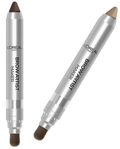 Brow Artist Maker  L`orealLOreal<br>Производство: Великобритания Первый крем-карандаш для создания густых пушистых дерзких бровей брови в стиле хиппи.<br>        <br>Крем - карандаш для бровей LOreal Paris Brow Artis Maker позволяет всего одним движением прорисовать широкие густые брови. Сохраняет макияж стойким весь день.<br><br>Линейка: Brow Artist Maker  L`oreal<br>Пол: Женский