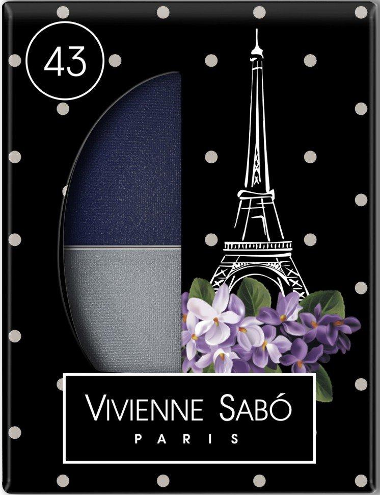 Eyeshadow Duo  Vivienne SaboVivienne Sabo<br>Производство: Франция Jeter du Chic (фр.) - выглядеть шикарно<br>Великолепный дуэт, сочетающий в себе два оттенка: темный и светлый - все, что нужно для того, чтобы выглядеть шикарно! Классическое правило: светлый цвет на внутренний уголок глаза, темный &amp;ndash; на внешний. Но можно и поиграть: например, нарисовать темную точку посередине верхнего века или подчеркнуть нижнее веко. Играйте с цветами, играйте с текстурами. Удивительные контрасты и волнующие комбинации тонов для обворожительных глаз.<br>Мягкая шелковистая текстура теней оставляет длительное ощущение комфорта на веке. Новая овальная упаковка с &amp;laquo;окошком&amp;raquo; &amp;ndash; для удобства в выборе любимого оттенка. Практичную упаковку с аппликатором внутри удобно носить в сумочке.<br>Преимущества:<br><br>Дуэт теней светлого и&amp;nbsp;темного<br>Мягкая текстура легко наносится и&amp;nbsp;растушевывается оставляя ощущение комфорта<br>Устойчивый результат&amp;nbsp;&amp;mdash; тени держатся весь день и&amp;nbsp;не&amp;nbsp;требуют под правления, без скатывания в&amp;nbsp;складочке века<br>Яркие переливчатые цвета для выразительного вечернего макияжа<br>Приглушенные и&amp;nbsp;классические цвета для дневного и&amp;nbsp;делового макияжа<br><br>Способ применения: нанесите аппликатором, кистью или подушечками пальцев.<br><br>Линейка: Eyeshadow Duo  Vivienne Sabo<br>Пол: Женский