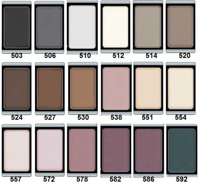 ArtDecoArtDeco<br>Производство: Германия Тени с высокой цветопередачей, устойчивой текстурой и матовым эффектом помогают создать выразительный макияж глаз.<br>        <br>Экстремально высоко пигментированные профессиональные матовые тени прекрасно подходят для макияжа Smoky Eyes, женщинам, не использующим перламутровые текстуры, и фотосъемок. Их гладкая, шелковистая текстура и формула премиального качества созданы для ценителей безукоризненного макияжа. Практичная упаковка на магнитах позволит комбинировать тени различных оттенков по Вашему вкусу.<br><br>Линейка: ArtDeco<br>Пол: Женский