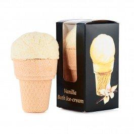 Бурлящий шар-мороженое Ванильное в коробке, арома-средство для ванн МыловаровМыловаров<br>Производство: Россия &amp;lt;p&amp;gt;Опустите это мороженое для ванны в воду &amp;mdash; и окунитесь в феерию чувственного наслаждения.&amp;nbsp;&amp;lt;/p&amp;gt;.<br>        <br>Верхушка с тонким ароматом ванили и сливок состоит из питательных натуральных масел ши и какао, самой природой созданных для омоложения. Ваша кожа нуждается в глотке тонизирующей свежести? Просто опустите в воду &amp;laquo;стаканчик&amp;raquo; с ароматом свежего печенья &amp;mdash; и морская соль с миндальным маслом вернут вашей коже соблазнительную упругость.<br>Способ применения:&amp;nbsp;&amp;laquo;Мороженое&amp;raquo; рассчитано на два приема ванны. Отделите верхнюю часть &amp;laquo;мороженого&amp;raquo; от &amp;laquo;стаканчика&amp;raquo; и применяйте получившиеся части для принятия ароматных ванн. &amp;laquo;Верхнюю&amp;raquo; часть нужно растворять в горячей воде (48-50С) перед принятием ванны. Будьте осторожны! Дайте воде остыть до комфортной температуры. Время принятия ванны 15-20 минут.<br>Состав:&amp;nbsp;Sodium bicarbonate (бикарбонат натрия) ,Citric acid (лимонная кислота), Sea salt (морская соль), Cocoa butter (масло какао), Shea butter (масло ши), Сorn starch (кукурузный крахмал), Emulsifying Wax NF (эмульсионный воск), Parfume, Sweet almond oil (миндальное масло), Sorbitol (сорбитол), BHT, Е110, Е155.<br><br>Линейка: Бурлящий шар-мороженое Ванильное в коробке, арома-средство для ванн Мыловаров<br>Объем мл: 180<br>Пол: Унисекс