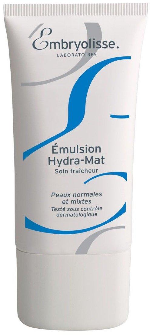 Hydra-Mat Emulsion EmbryolisseEmbryolisse<br>Производство: Франция Освежающий уход. Для нормальной и комбинированной кожи.<br>Гидро-матирующая эмульсия обеспечивает оптимальное увлажнение и длительный матирующий эффект. Заметно увеличивается увлажненность кожи благодаря натуральным компонентам, масло абрикоса придаёт коже здоровое сияние.&amp;nbsp;<br>Легкая прохладная гелевая текстура эмульсии проникает глубоко в кожу, быстро впитывается, оставляя её нежной и матовой в течение всего дня. Эмульсия дарит ощущение увлажненности и придает коже продолжительный матовый эффект.&amp;nbsp;<br>Способ применения:&amp;nbsp;наносите утром на кожу лица и шеи, распределите лёгкими круговыми движениями и дайте впитаться.<br>Состав:Aqua. Glycerin. Prunus Armeniaca Kernel Oil. Isononyl Isononanoate. Hydroxyethyl Acrylate, Sodium Acryloyldimethyl, Taurate Copolymer, Squalane. Butyrospermum Parkii Oil. Polymethylmetacrylate. Corn Starch Modified. Biosaccharide Gum-1. Hydrogenated Polyisobutene. Carbomer. Tocopheryl Acetate. Isopentyldiol. Caprylyl Glycol, 1,2-Hexanediol. Polysorbate 60. Allantoin. Hydrogenated Polydecene. Parfum. Edta. Hydrogenated Lecithin. Glyceryl Caprylate. Tropolone. Potassium Sorbate. Sodium Hydroxyide.<br><br>Линейка: Hydra-Mat Emulsion Embryolisse<br>Объем мл: 40<br>Пол: Женский