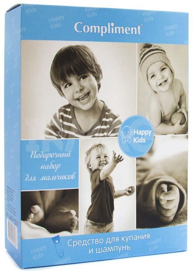 Kids Подарочный набор №976 для мальчиков ComplimentCompliment<br>Производство: Россия В набор входят шампунь для волос (250 мл) и средство для купания (250 мл).<br><br>Линейка: Kids Подарочный набор №976 для мальчиков Compliment<br>Объем мл: 500<br>Пол: Женский