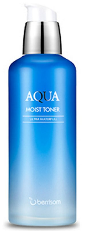 Aqua Moist Toner BerrisomBerrisom<br>Тонер оказывает мгновенное действие, насыщая кожу живительной влагой, а также питательными веществами. Кроме того, тонер завершает процесс очищения кожи, отшелушивая омертвевшие клетки кожи, и подготавливает ее к нанесению последующих косметических средств. Насыщает кожу витаминами, микроэлементами и влагой, которые активно борются с первыми признаками старения, улучшают цвет лица, способствуют разглаживанию морщин.<br>        <br>Тонер для лица увлажняющий от бренда Berrisom рекомендовано использовать сразу после умывания. Косметический продукт предупреждает обезвоживание дермы, насыщает ее клетки питательными веществами и влагой, отшелушивает омертвевшие частички.<br>Березовый сок поддерживает эластичность эпидермиса, разглаживает нежелательные морщинки и справляется с возрастной пигментацией. Трегалоза считается сильным антиоксидантом. Вещество регенерирует клетки эпидермиса и защищает лицо от агрессивных факторов внешней среды. Также в составе содержатся экстракты клюквы, бузины, камелии, ежевики и энотеры. Они стимулируют выработку коллагена и питают кожу, благодаря чему лицо всегда останется увлажненным и защищенным от раннего старения.<br> Способ применения: смочить тонером ватный диск и протереть им кожу лица.<br><br>Линейка: Aqua Moist Toner Berrisom<br>Объем мл: 130<br>Пол: Женский