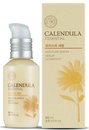 Calendula Essencial Moisture Serum 2015 The Face ShopThe Face Shop<br>Интенсивное и длительное увлажнение обеспечивает коже концентрированная сыворотка с экстрактом календулы. Средство обеспечивает мгновенное насыщение влагой каждую клеточку кожи, благодаря чему кожа наполняется силой, оживает, расправляется и разглаживается.<br>Сыворотка подходит для любого типа кожи, но особенно подходит&amp;nbsp;для бережной заботы о сухой и чувствительной коже, способствует быстрому восстановлению поврежденной кожи, что особенно актуально при неблагоприятных климатических условиях, восстанавливает защитный барьер.<br>Экстракт календулы&amp;nbsp;в составе сыворотки оказывает антиоксидантное, противовоспалительное, успокаивающее и омолаживающее действие. Календула усиливает защитные функции кожи, ускоряет процессы обновления клеток, повышает прочность капилляров, способствует укреплению кожи и ее разглаживанию.<br>Кроме экстракта календулы сыворотка содержит&amp;nbsp;успокаивающий растительный комплекс&amp;nbsp;(экстракты ромашки, василька, ройбуш, лилли, шалфея и огуречника), а также&amp;nbsp;гиалуроновую кислоту, которые усиливают увлажняющее и успокаивающее действие средства.<br>После нанесения сыворотки кожа становится мягкой и гладкой, исчезают шелушения и чувство дискомфорта. При регулярном применении средства кожа становится более упругой, повышается ее тонус, разглаживается сеточка мелких морщинок, а глубокие морщины становятся менее выраженными.<br>Способ применения: на очищенную и тонизированную кожу нанести несколько капель средства мягкими массирующими движениями.<br><br>Линейка: Calendula Essencial Moisture Serum 2015 The Face Shop<br>Объем мл: 60<br>Пол: Женский