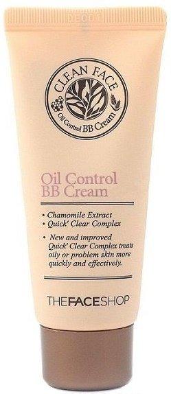 Clean Face Oil Control Bb Cream  The Face Shop  мл (жен)