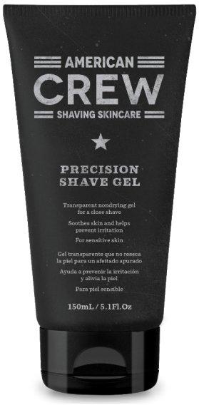 Precision Shave Gel Crew Shaving Skincare American CrewAmerican Crew<br>Производство: США Во время бритья кожа нуждается в особом уходе. Поэтому в American Crew разработали специальное средство, обеспечивающее идеальное бритье. Нежная текстура геля American Crew Precision Shave Gel помогает легкому скольжению станка и препятствует раздражению во время бритья.<br>Экстракт тыквенных семян и винограда смягчают кожу, защищая ее от раздражения, при этом кожный покров увлажняется витамином Е, делая ее гладкой и мягкой.<br>Продукт подходит для всех типов кожи.<br>Способ применения: увлажните лицо теплой водой и массажными движениями нанесите гель на кожу. Приступайте к бритью.<br>Состав: Water (Aqua) (Eau), Sodium Laureth Sulfate, Glycerin, Acrylates/C10-30 Alkyl Acrylate Crosspolymer, Triethanolamine, Cocamidopropyl Betaine, Sea Water, Cucurbita Pepo (Pumpkin) Seed Extract, Aloe Barbadensis Leaf Juice, Mentha Pip-erita (Peppermint) Oil, Melaleuca Alternifolia (Tea Tree) Leaf Oil, Camellia Sinensis Leaf Extract, Salvia Hispanica Seed Extract, Urtica Dioica (Nettle) Ex-tract, Symphytum Officinale Leaf Extract, Chondrus Crispus (Carrageenan) Extract, Sambucus Nigra Flower Extract, Echinacea Angustifolia Extract, Vitis Vinifera (Grape) Seed Oil, Tocopherol Acetate, Ben-zophenone-4, Polyquaternium-11, Phenoxyethanol, Butylparaben, Ethylparaben, Isobutylparaben, Methylparaben, Propylparaben.<br><br>Линейка: Precision Shave Gel Crew Shaving Skincare American Crew<br>Объем мл: 150<br>Пол: Мужской