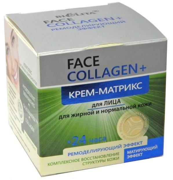 Collagen крем-матрикс для жирной и нормальной кожи Белита 50 мл (жен)