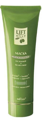 Lift маска подтягивающая на зелено-белой глине Белита 100 мл (жен)