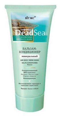 Минеральный для всех типов волос ВитексВитекс<br>Бальзам- кондиционер интенсивно питает и увлажняет кожу головы, повышает эластичность и упругость волос. Насыщает волосы минералами и микроэлементами Мертвого моря. Нормализует рН-баланс и усиливает кровообращение в клетках кожи головы, предотвращая ослабление волос. Благодаря особым кондиционерам волосы приобретают здоровый вид и защиту от воздействия горячего воздуха фена, легко расчесываются и укладываются в прическу.<br>        <br>Мертвое море - уникальное. Многие женщины готовы на все, чтобы ощутить на себе его чудесное действие, стремясь побывать в лучших СПА-салонах, расположенных на его берегу. Благодаря косметической серии Dead Sea Cosmetics от ТМ &amp;laquo;Витэкс&amp;raquo; вы сможете убедиться в эксклюзивности и эффективности косметики на основе минералов, солей или грязей Мертвого моря. Вся продукция из серии Dead Sea Cosmetics содержит в своей формуле натуральную соль Мертвого моря и экстракт морских водорослей (бурых, японских и саргассовых). Побалуйте свои волосы уникальными процедурами, которые можно сравнить с лучшим спа-уходом.<br>Благодаря бальзаму-кондиционеру Витэкс Dead Sea Cosmetics Balsam Conditioner Mineral вы подарите своим локонам роскошную мягкость, шелковистость и блеск по всей длине. Активные компоненты Витэкс Dead Sea Cosmetics Balsam Conditioner Mineral насыщают волосы минералами Мертвого моря, нормализуют рН и укрепляют волосяную луковицу. Особые компоненты в составе бальзама способствуют глубокому питанию и увлажнению волос, благодаря чему они обретают здоровый и ухоженный вид, легко расчесываются и не спутываются во время укладки.<br>Способ применения: нанести на чистые влажные волосы, оставить на 3-5 минут и смыть.<br>Состав: вода, цетеариловый спирт, хлорид цетримония, поликватерниум-11, поликватерниум-7, гидроксиэтилцеллюлоза, хлорид бегентримония, парфюмерная композиция, пантенол, бензиловый спирт, метилхлоризотиазолинон, метилизотиазолинон, метилпарабен, лимонная кислота, проп