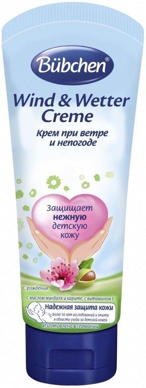 BubchenBUBCHEN<br><br>без красителей<br>без консервантов<br>не содержит минерального масла<br>pH-нейтральный для кожи<br>с пантенолом<br>с витамином Е<br>с натуральным растительным маслом карите<br>с маслом миндаля<br>использовать с рождения<br><br>Крем питает нежную и чувствительную кожу малыша и надежно защищает ее от холода, влаги и ветра. Активные компоненты стабилизируют содержание влаги в коже и предохраняют ее потерю. Комплекс &amp;laquo;БЮБХЕН -АКТИВНАЯ ЗАЩИТА КОЖИ&amp;raquo;, масло миндаля и карите укрепляют природную защиту кожи, пантенол и витамин Е препятствуют появлению раздражения, а пчелиный воск создает на коже легкую воздухопроницаемую защитную пленку. Использовать с рождения.<br>Способ применения: небольшое количество крема тонким слоем нанести на открытые участки тела (лицо, ручки) за 20 минут перед выходом на прогулку. Для&amp;nbsp;детей с рождения и для всей семьи.<br>Состав:Aqua, Isopropyl Palmitate, Butylene Glycol, Polyglyceryl-3 Diisostearate, Glycerin, Hexyldecanol, Hexyldecyl Laurate, Panthenol, Zinc Staerate, Butyrospermum Parkii Butter, Prunus Amygdalus Dulcis Oil, Polyglyceryl-3 Polyricinoleate, Cera Alba, Heliotropine, Tocopheryl Acetate, Tocopherol, Zinc Sulfate, Parfum, Citric Acid.<br><br>Линейка: Bubchen<br>Объем мл: 75<br>Пол: Женский