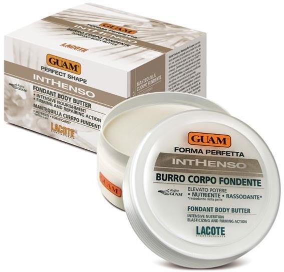 Inthenso GuamGuam<br>Производство: Италия Крем  глубоко питает, укрепляет и подтягивает кожу. Крем обогащён питательными и  укрепляющими компонентами, идеально подходит для нормальной, сухой и  обезвоженной кожи.<br>        <br>Крем  глубоко питает, укрепляет и подтягивает кожу. Крем обогащён питательными и  укрепляющими компонентами, идеально подходит для нормальной, сухой и  обезвоженной кожи. Имеет плотную маслянистую консистенцию, легко впитывается.  На разогретой коже особенно эффективен – буквально тает, окутывает её  чувственным утончённым ароматом, дарит ей нежность и притягательность. Крем  глубоко питает, укрепляет и подтягивает кожу. Обеспечивает полноценную  защиту, помогает сохранить молодость и естественную красоту кожи. Способ применения: наносить  массажными движениями на чистую кожу до полного впитывания.<br><br>Линейка: Inthenso Guam<br>Объем мл: 250<br>Пол: Женский