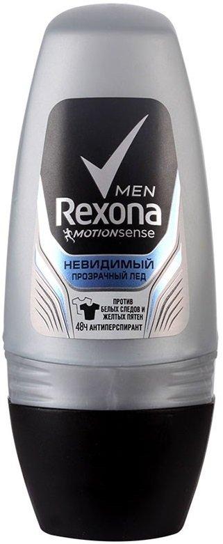 RexonaREXONA<br>Роликовый антиперспирант Rexona Men Невидимый Прозрачный Лед с ароматом цитруса, древесных оттенков и лаванды не оставляет следов на одежде, помогает контролировать потоотделение, защищает от запаха и предотвращает появление пятен в области подмышек. Пот, пятна и неприятный запах теперь не испортят твой день. Наслаждайся свежестью и не беспокойся о своей одежде. Защищает от пота и запаха на 48 часов Содержит формулу Motionsense с микрокапсулами Защищает от белых следов и желтых пятен на коже и одежде Непрерывное ощущение свежести с утра и до вечера Свежая белая рубашка, новая черная футболка ? твоя одежда заслуживает не менее надежной защиты, чем ты сам. Вот почему мы разработали антиперспирант Rexona Men «Невидимый прозрачный лед». Активные ингредиенты некоторых дезодорантов-антиперспирантов могут смешиваться с солями пота и жировыми выделениями, тем самым еще больше способствуя появлению пятен в области подмышек. Этот антиперспирант работает по-другому. Он был специально разработан для предотвращения образования желтых пятен на белой одежде и белых — на черной. Мужской антиперспирант обеспечивает многоуровневую защиту, борясь с потом и запахом до 48 часов. Технология Motionsense гарантирует свежесть на каждом шагу. Микрокапсулы, которые находятся на поверхности тела, раскрываются во время движения, высвобождая свежий аромат с цитрусовыми нотками и мягкой древесной базой. Пот, пятна и неприятный запах теперь не испортят твой день. Наслаждайся свежестью и не беспокойся о своей одежде. Будь уверен, Rexona никогда не подведет! Способ применения: проведите шариком по чистой и сухой коже подмышек. Состав:Aqua, Aluminum Zirconium Pentachlorohydrate, Glycerin, Helianthus Annuus Seed Oil, Steareth–2, Parfum, Steareth–20, Citric Acid, Potassium Lactate, Alpha–Isomethyl Ionone, Benzyl Alcohol, Benzyl Salicylate, Butylphenyl Methylpropional, Coumarin, Hexyl Cinnamal, Isoeugenol, Limonene, Linalool.<br><br>Линейка: Rexona<br>Объем мл: 50<br>Пол: Мужской