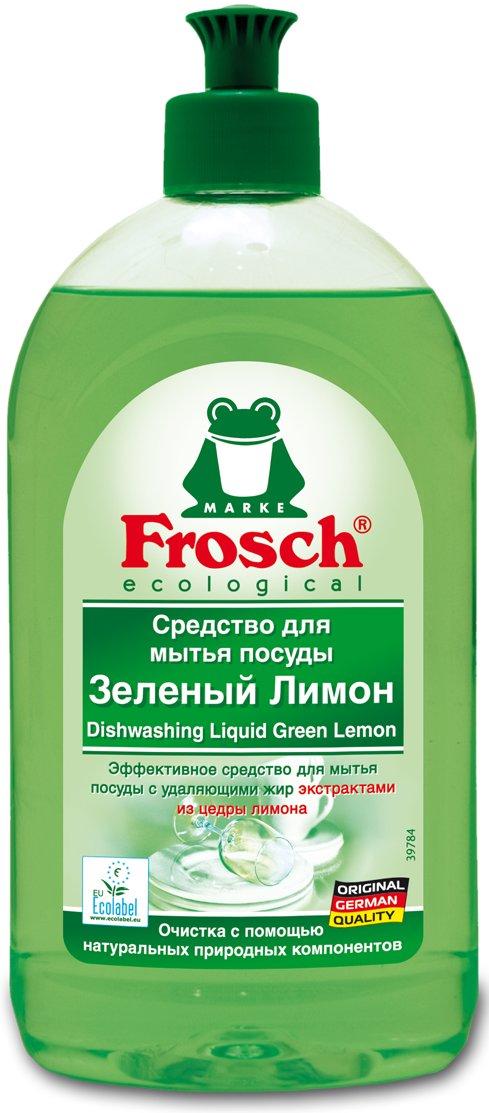 FroshFrosh<br>Производство: Германия Средство для мытья посуды Зеленый лимон эффективно растворяет жир благодаря натуральным экстрактам из цедры лимона и отмывает посуду до блеска. Не вредит коже рук благодаря нейтральному коэффициенту pH. Протестировано дерматологами. Содержит моющие активные вещества растительного происхождения, которые разлагаются на 98%. Сертифицировано Ecolabel. Отличная моющая способность; Удаляющие жир экстракты из цедры лимона; pH нейтральный; Протестировано дерматологами Способ применения: рекомендуется использовать 1 чайную ложку (5 мл) на 5 л. воды. Средство сильно пенится. При особо сильных загрязнениях рекомендуется использовать средство в неразбавленном виде. Состав:5-15% анионных ПАВ, &lt;5% неионогенных ПАВ, амфотерные ПАВ, консерванты (молочная кислота), отдушки (лимонен, цитраль, прочие отдушки). Прочие компоненты: лимонное масло, в незначительных количествах пищевые красители.<br><br>Линейка: Frosh<br>Объем мл: 1000<br>Пол: Унисекс