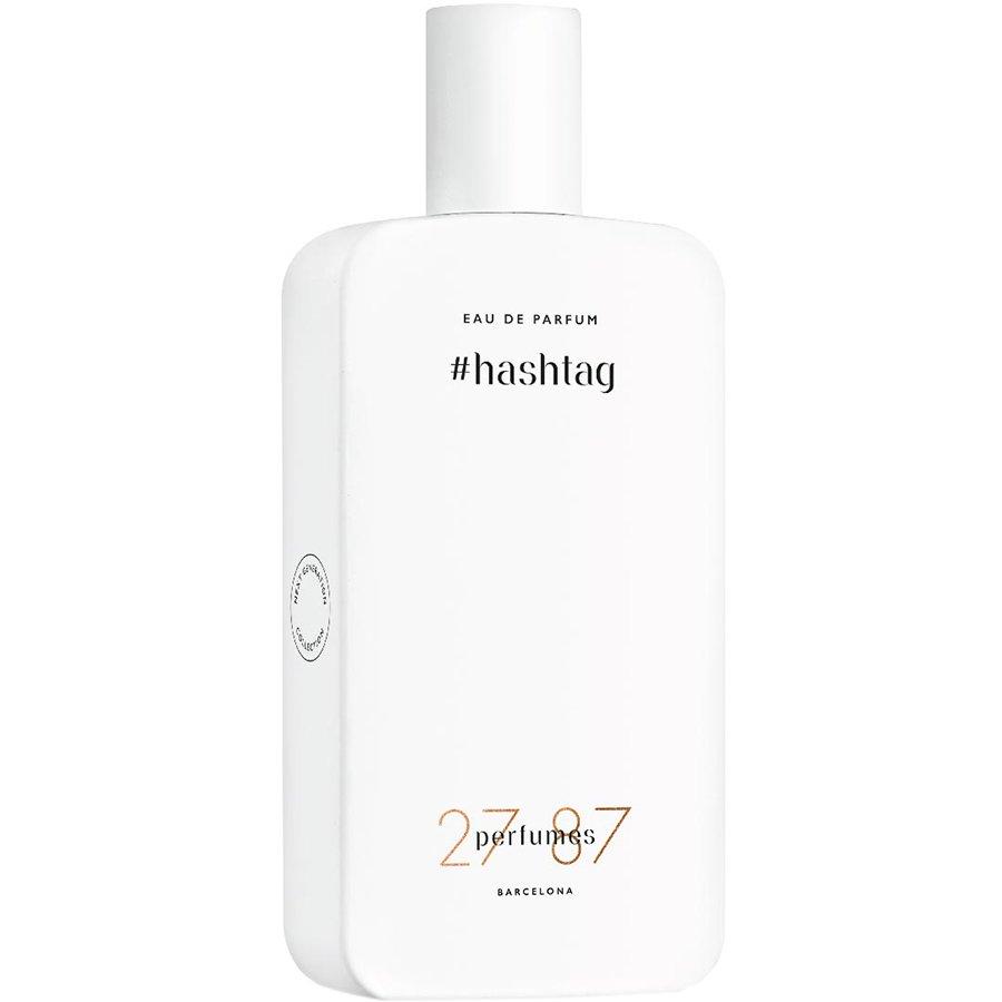 #Hashtag27 87 Perfumes<br>Год выпуска: 2016 Производство: Испания Семейство: фужерные Верхние ноты:  Альдегиды, Лист фиалки Средние ноты:  Ирис, олибанум Базовые ноты:  Белый кедр, Мускус #Hashtag 27 87 &amp;mdash; это аромат для мужчин и женщин, он принадлежит к группе фужерные. Это новое издание: #Hashtag выпущен в 2016 году. Парфюмер: Daniela (Roche) Andrier. Верхние ноты: Альдегиды и Лист фиалки; средние ноты: Ирис и Олибанум; базовые ноты: Белый кедр и Мускус.<br><br>Линейка: #Hashtag<br>Объем мл: 87<br>Пол: Унисекс<br>Аромат: фужерные<br>Ноты: Альдегиды, Лист фиалки,  Ирис, олибанум,  Белый кедр, Мускус<br>Тип: парфюмерная вода<br>Тестер: нет