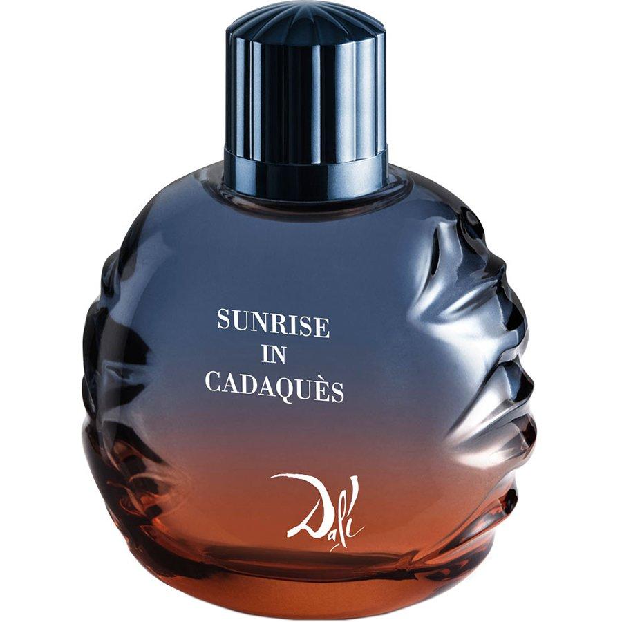 Sunrise in Cadaques Pour HommeSalvador Dali<br>Год выпуска: 2017 Производство: Испания Семейство: древесные пряные Верхние ноты:  грейпфрут, кардамон, мускатный орех Средние ноты:  Герань, Полынь, Белый кедр Базовые ноты:   Амбра, Таитянский ветивер, Мох, Мускус Sunrise in Cadaques Pour Homme Salvador Dali &amp;mdash; это аромат для мужчин, он принадлежит к группе древесные пряные. Это новое издание: Sunrise in Cadaques Pour Homme выпущен в 2017 году. Парфюмер: Raphael Haury. Верхние ноты: Грейпфрут, Кардамон и Мускатный орех; средние ноты: Герань, Полынь и Белый кедр; базовые ноты: Амбра, Таитянский ветивер, Мох и Мускус.<br><br>Линейка: Sunrise in Cadaques Pour Homme<br>Объем мл: 50<br>Пол: Мужской<br>Аромат: древесные пряные<br>Ноты: грейпфрут, кардамон, мускатный орех,  Герань, Полынь, Белый кедр,   Амбра, Таитянский ветивер, Мох, Мускус<br>Тип: туалетная вода<br>Тестер: нет
