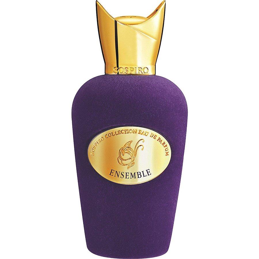 EnsembleSospiro Perfumes<br>Год выпуска: 2017 Производство: Италия Семейство: восточные Верхние ноты:  калабрийский бергамот, мандарин, Амальфитанский лимон Средние ноты:  Розовый перец, Сандал, табак Базовые ноты:  мексиканская ваниль, Мускус Ensemble Sospiro Perfumes &amp;mdash; это аромат для мужчин и женщин, он принадлежит к группе восточные. Это новое издание: Ensemble выпущен в 2017 году. Верхние ноты: Калабрийский бергамот, Мандарин и Амальфитанский лимон; средние ноты: Розовый перец, Сандал и Табак; базовые ноты: Табак, Мексиканская ваниль и Мускус.&amp;nbsp;<br><br>Линейка: Ensemble<br>Объем мл: 100<br>Пол: Унисекс<br>Аромат: восточные<br>Ноты: калабрийский бергамот, мандарин, Амальфитанский лимон,  Розовый перец, Сандал, табак,  мексиканская ваниль, Мускус<br>Тип: парфюмерная вода-тестер<br>Тестер: да