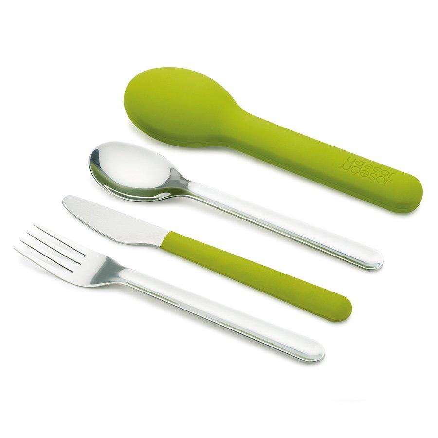 Набор столовых приборов goeat cutlery set зелёный 0 мл (унисекс)
