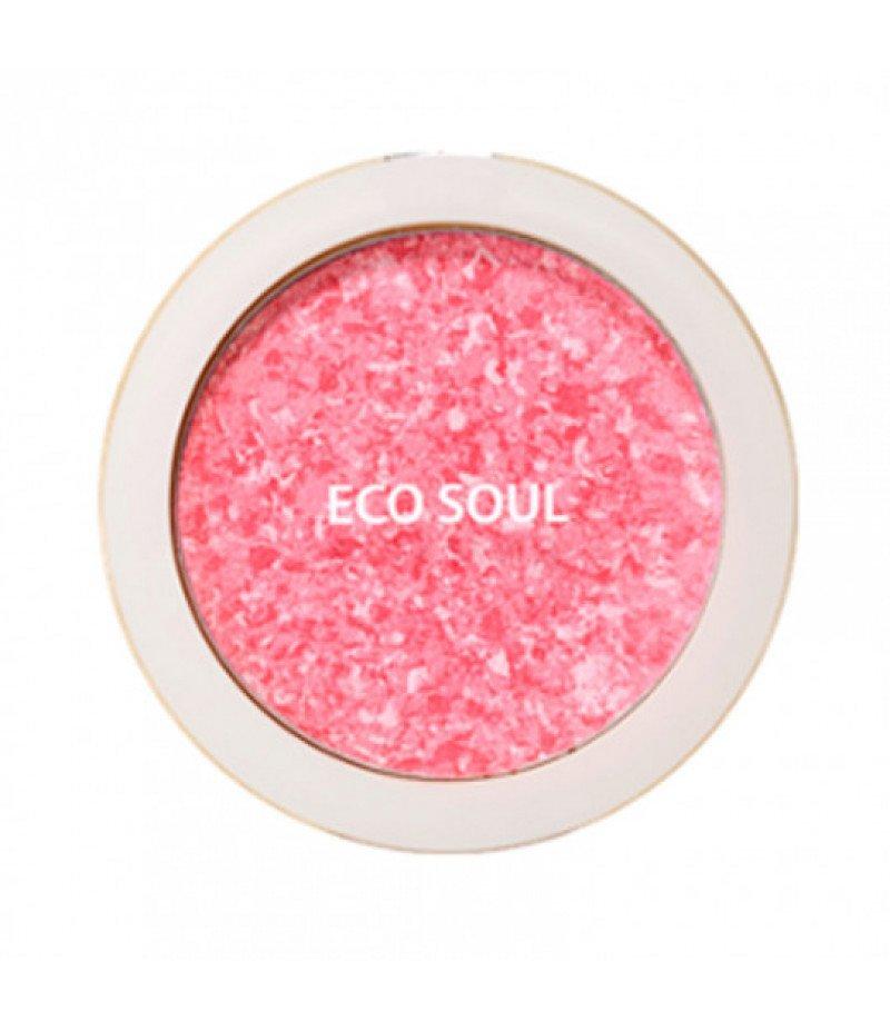 Румяна компактные 01 Eco Soul Carnival blush 01 Rose  9 мл (жен)