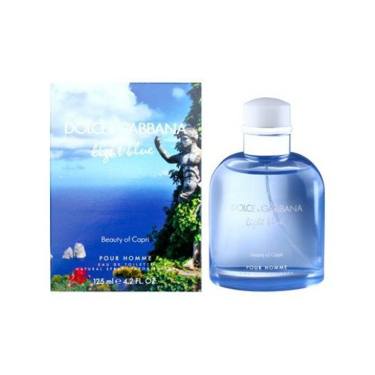 Light Blue Pour Homme Beauty of Capri Light Blue Pour Homme Beauty of Capri 125 мл (муж)