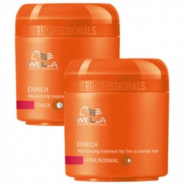 Маска для волос Enrich Moisturising Treatment For Fine To Normal Hair от Wella Professional 6432 фото