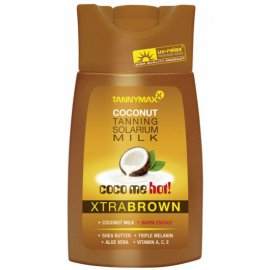 Молочко для загара без бронзатора Xtra Brown Hot Coconut Milk от TannyMaxx 6080 фото