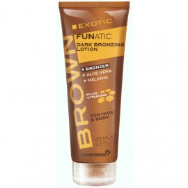 Brown Exotic Funatic Dark Bronzing Lotion 6028 фото