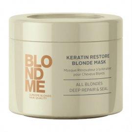 Маска для волос BlondMe Keratin Restore Blonde Mask от Schwarzkopf 6404 фото