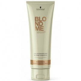 Шампунь для волос BlondMe Color Enhancing Rich Caramel Warm Blond Shampoo (250 мл) от Schwarzkopf 6405 фото