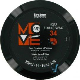 Воск для волос Move Me 34 H2O Fixing Wax (100 мл) от Dikson 7033 фото