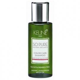 Шампунь для волос So Pure Natural Balance Color Care Shampoo (50 мл) от Keune 7558 фото