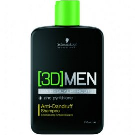 Шампунь для волос 3D Men Anti-Dandruff Shampoo от Schwarzkopf 8284 фото